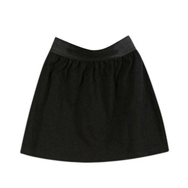 High Waist Skirt Adjustable Layering Fake Top Lower Sweep Set Skirt Half-length Splitting A Version Women Casual Skirts