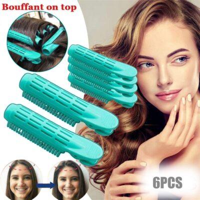 Instant Hair Volumizing Clip - 6pcs Hair Curler Clip