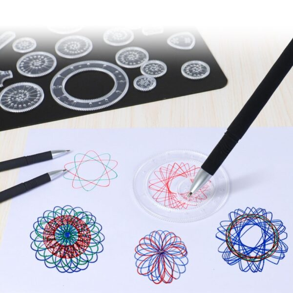 Spirograph Geometric Ruler Set