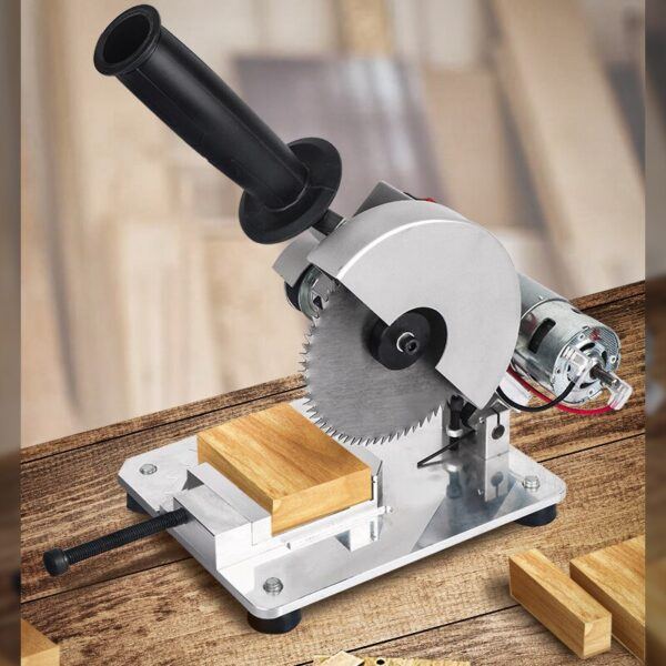 Mini Table Saw DIY Drill Micro Cutting Machine