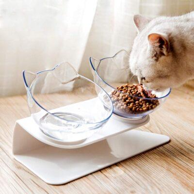 ANTI VOMITING ORTHOPAEDIC CAT FEEDER BOWLS