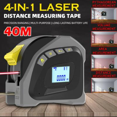 4-in-1 Laser Tape Measure