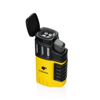 Portable 4 Torch Jet Flame Gas Lighter