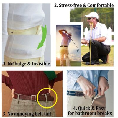 BELT WITH NO BUCKLE