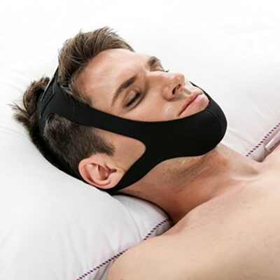 Anti Snore Belt Stop Snoring Chin Strap Woman Man Night Sleeping Aid Tools Snoring Protection Jaw Snore Stopper Bandage One Size