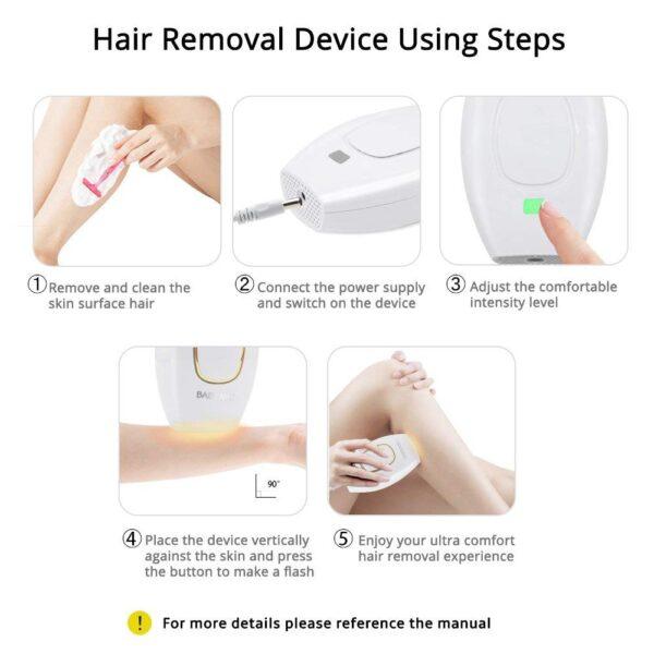 Laser Hair Removal Handset
