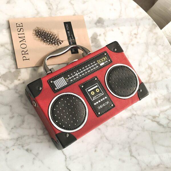 Retro Radio Handbag