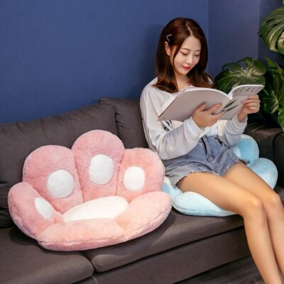 Cat Paw Pillow Seat Cushion