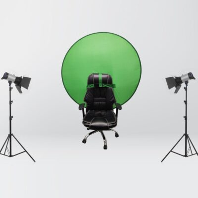 Portable Green Backdrop