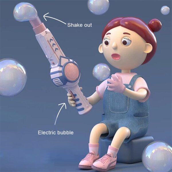 Elastic Smog Bubble Machine