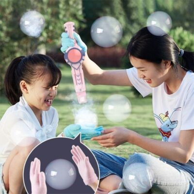 Elastic Smog Bubble Machine