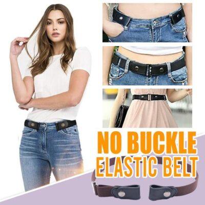 BELT WITH NO BUCKLE - Elastic Waist Belts