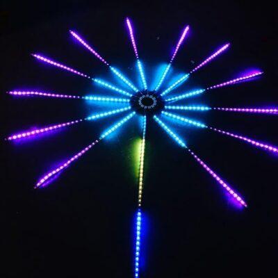 Fireworks lights led