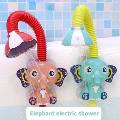 Cute Elephant Sprinkler Bath Toy