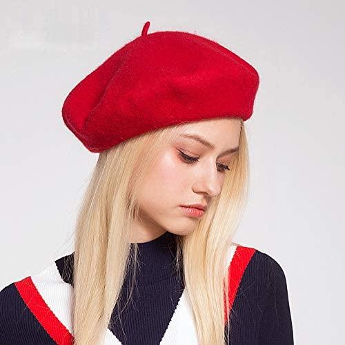 Winter Wool Vintage Berets Hat