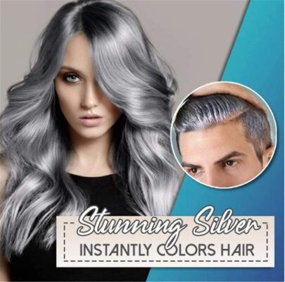 Silver Blonde Coloring Hair Wax
