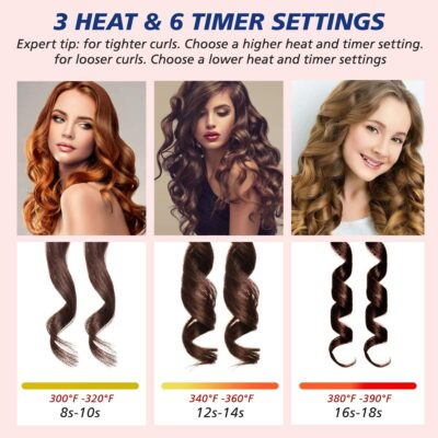 Cordless Automatic Hair Curler