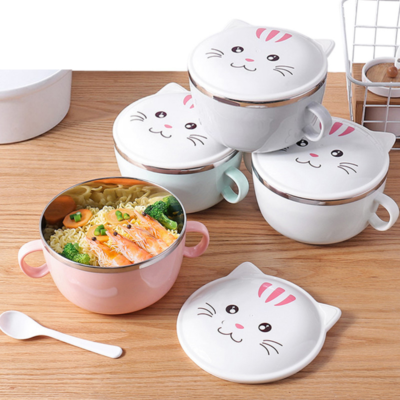Cat Design Food Container