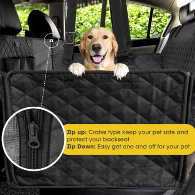 Dog Hammock Car Seat Cover