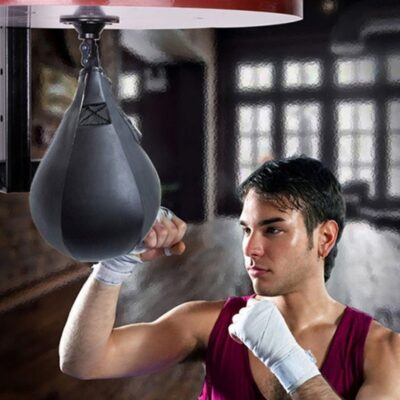 Sandbags Swivel Pear Speed Punching Ball Base Hook Mount Kit Punch Bag Speedbag Boxing Muay Thai Punch Boxe MMA Fitness Sports E