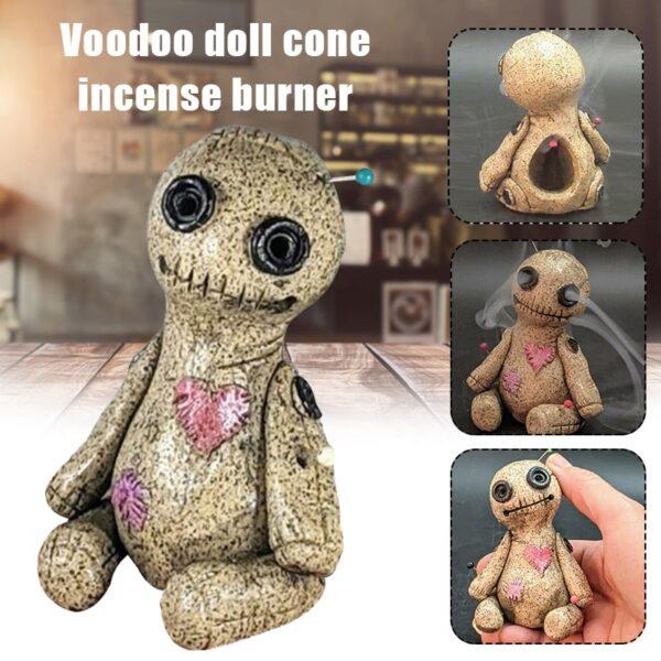 Voodoo Doll Cone Burner