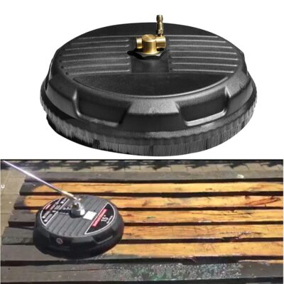 Pressure Washer Accessories Disc Power Washer Surface Cleaner 15 inches 3600PSI High Pressure Washer Rotary Surface Cleaner