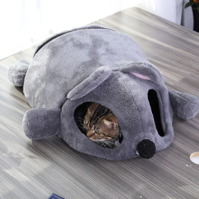 Funny Mouse Shaped Pet Bed