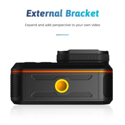Ultra Action Camera 4K With Remote Control Screen Waterproof Sport 4K Action Camera Helmet Gopro Hero Camera for Shooting Video