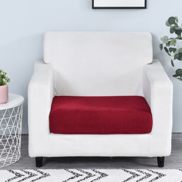funiture protector Jacquard thick sofa cover Corner sofa seat slipcover elastic solid color couch cover elastic material