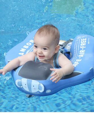 Non-inflatable Baby Floater Infant Swim Waist Float Lying Swimming Ring Floats Water Pool Toys Swim Trainer For Infant Swimmers