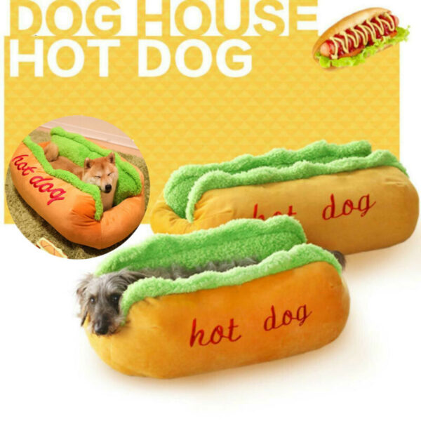 Hot Dog Comfy Pet House