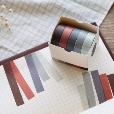 Neutral Color Washi Tape Starter