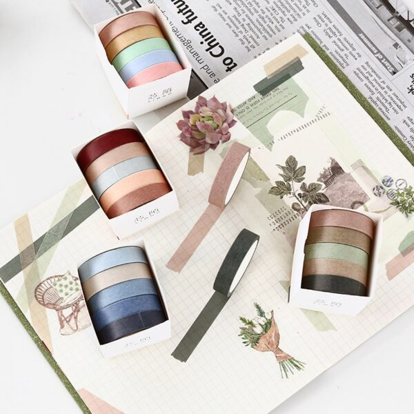 Neutral Color Washi Tape Starter