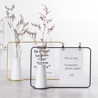 Home Decoration Wire Pot Vase Stand