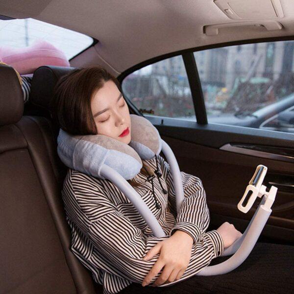 U Shaped Pillow Lazy Phone Holder