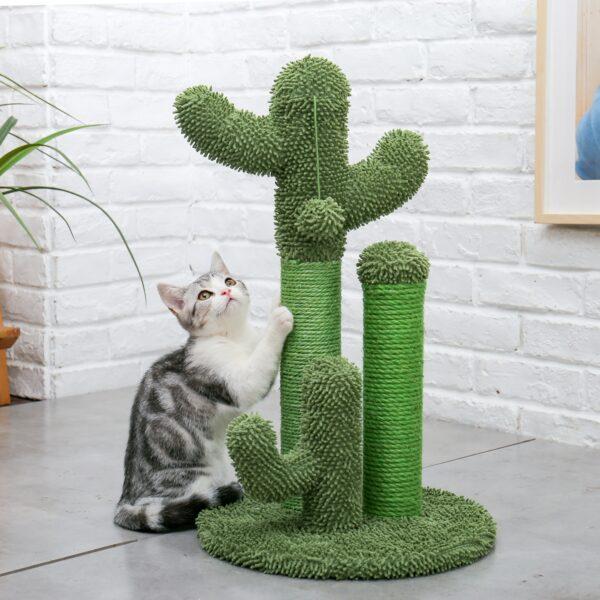 Cat Cactus Scratcher Tree