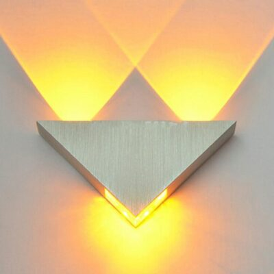 Modern LED Triangle Wall Lamp