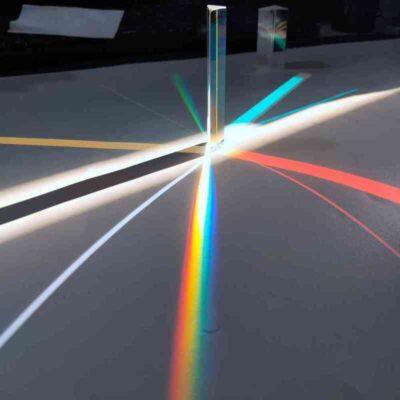 Angle Reflecting Triangular Prism