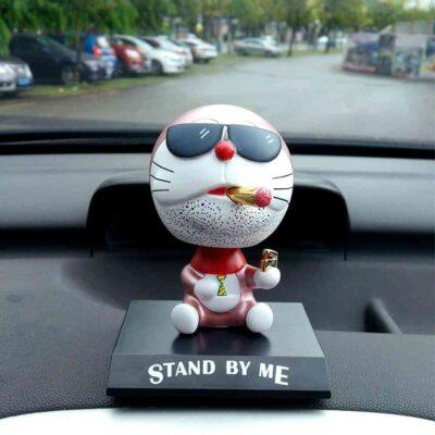 Cute Cat Shaking Head Car Decor Toy