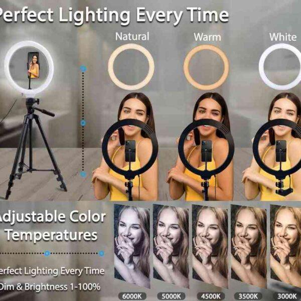 Photo Ringlight Led Selfie Ring Light