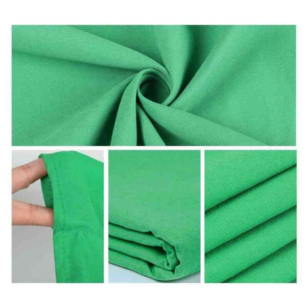 Photography Background Backdrop Smooth Muslin Cotton Green Screen Chromakey