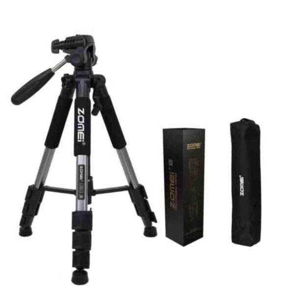 Professional Portable Travel Aluminum Camera Tripod&Pan Head