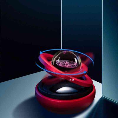 Solar Magnetic Levitation Car Rotating Ornaments