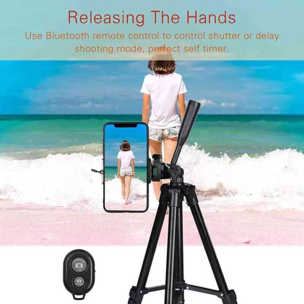 Tripod for Mobile Phone 40inch Universal Photography Stand