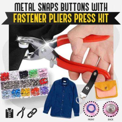 Button Snap Pliers Set