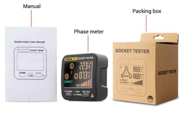Socket tester box