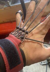 Resistance Band Finger Trainer - Finger Yoga