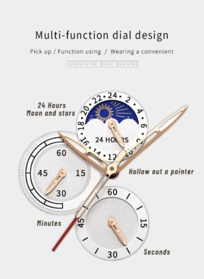 features of classical watch
